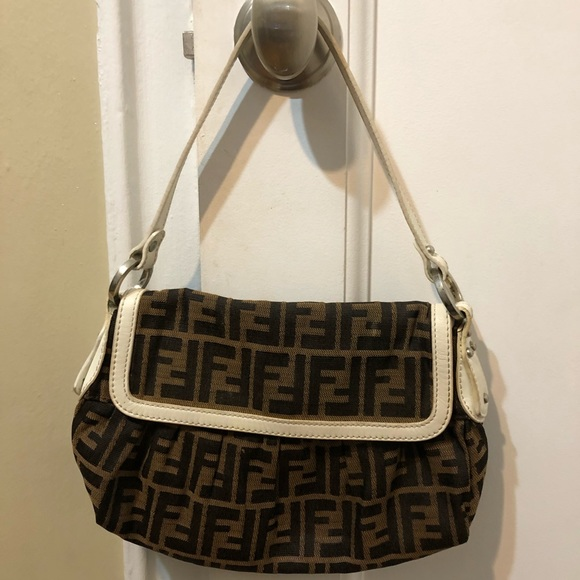 24b3aa3d02 Fendi Handbags - Fendi Borsa Chef Piccola Zucca Shoulder Bag 8BR353